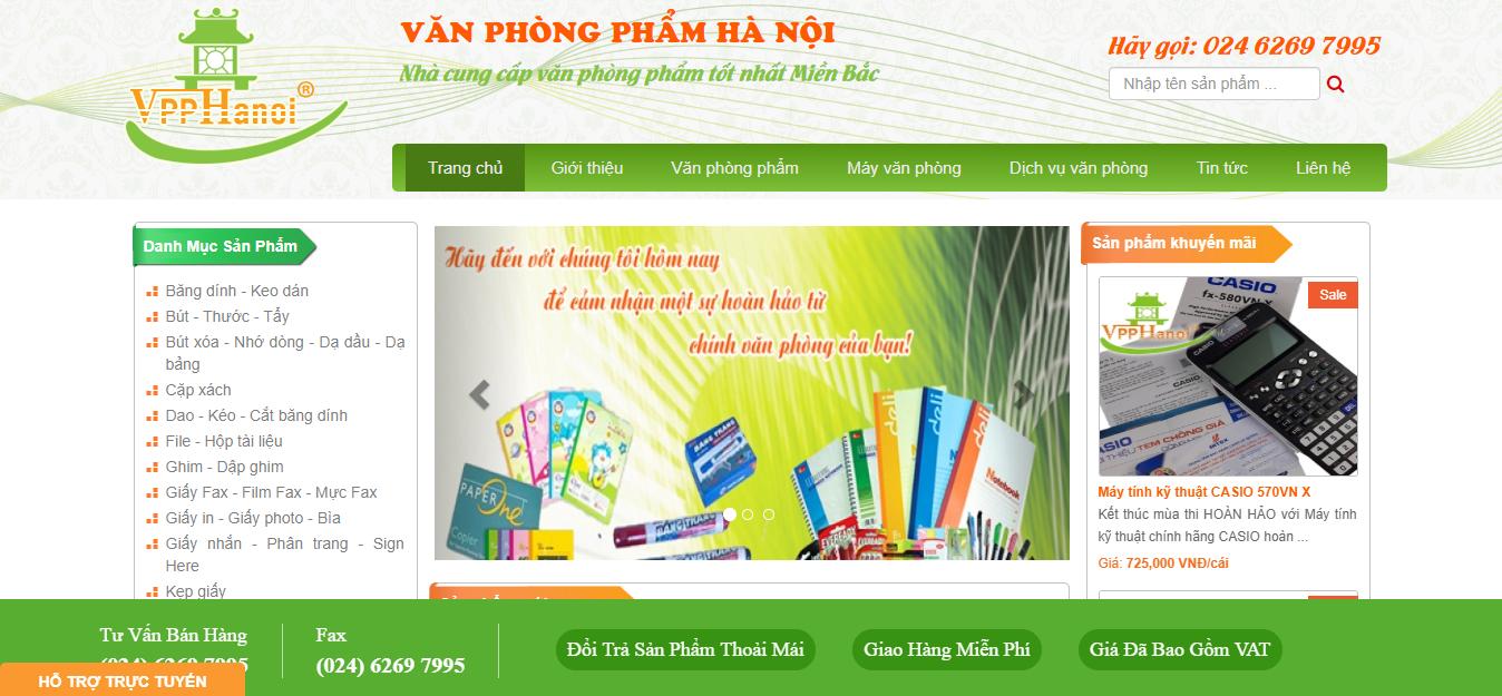 Văn phòng phẩm Hà Nội.