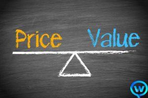 So sánh thiết kế kế web cao cấp và giá rẻ.