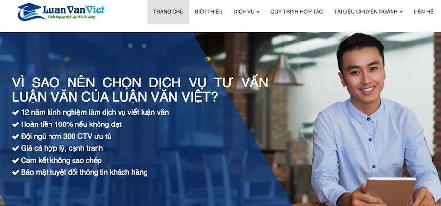Công ty viết luận văn thuê tại HCM - luanvanviet