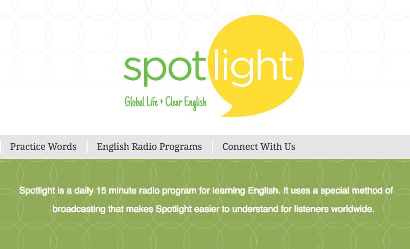 Chương trình dễ học từ Spotlightenglish
