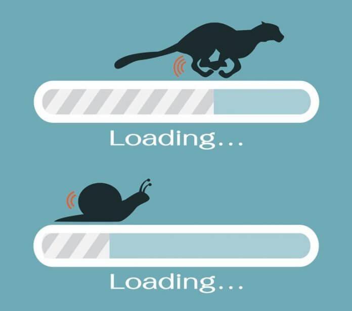 Tốc độ tải trang web phụ thuộc nhiều yếu tố
