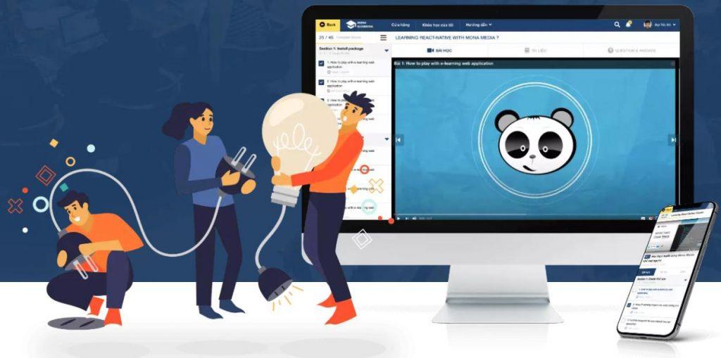 phần mềm quản lý trường học giáo dục Mona eLMS