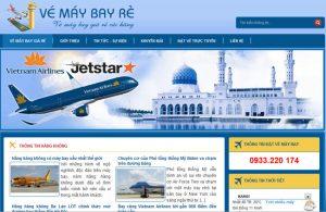 thiết kế website bán vé tàu