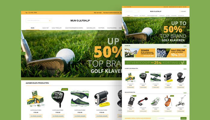 Cách lựa chọn website bán dụng cụ golf chất lượng